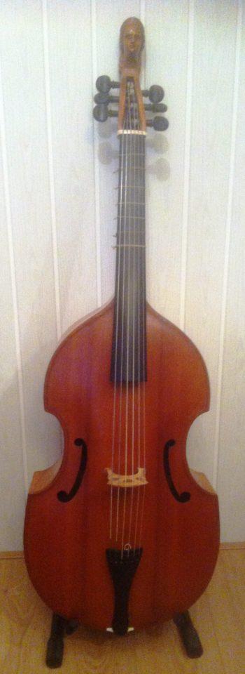 Bas Viola da gamba - Gebhart - front
