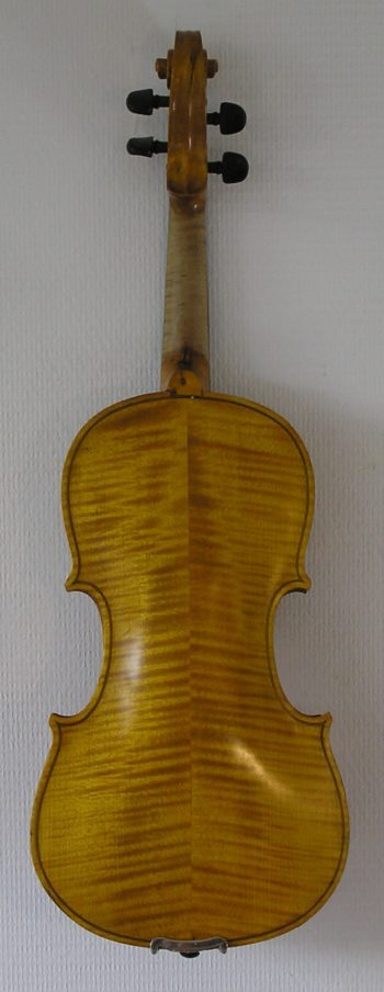 4/4 viool - Duits - back