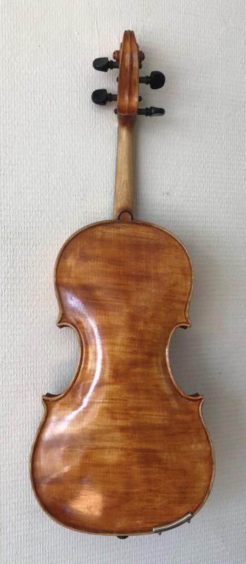 4/4 viool - E.F. Katzie - back