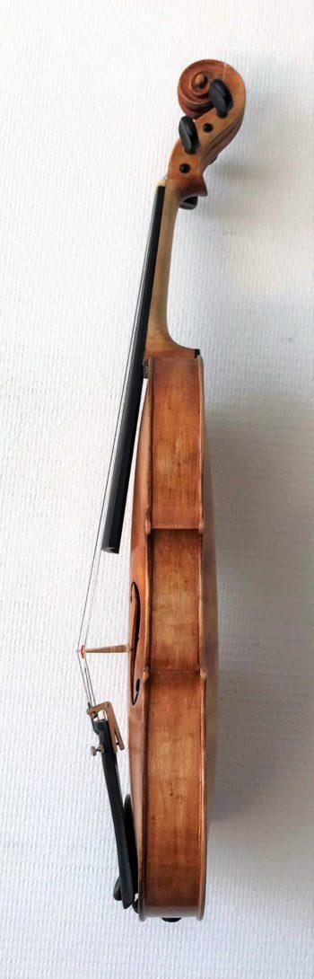 4/4 viool - E.F. Katzie - e-side