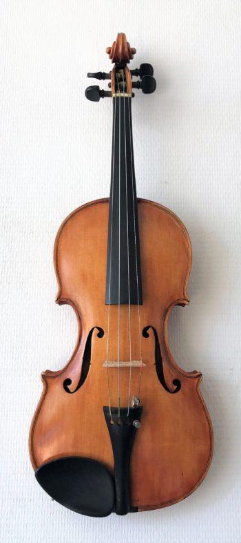 4/4 viool - E.F. Katzie - front
