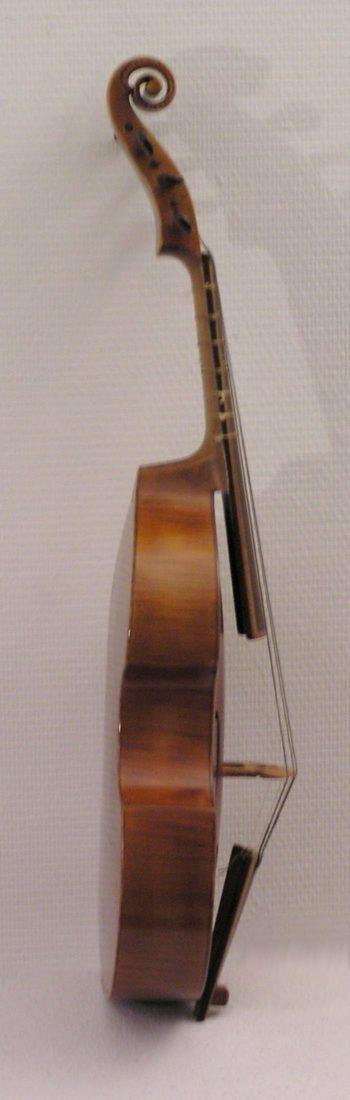 Viola da gamba - deskant - Langhammer - bside