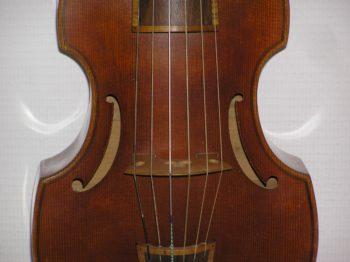 Viola da gamba - deskant - Langhammer - front detail