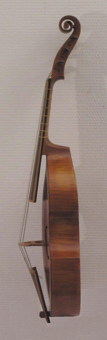 Viola da gamba - deskant - Langhammer - dside