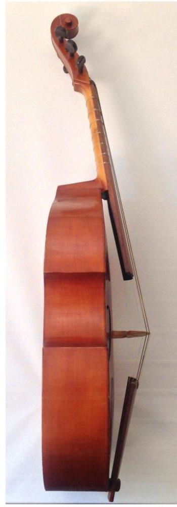 Tenorgamba bass side